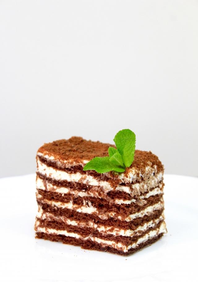 медовик шоколадный фото рецепт